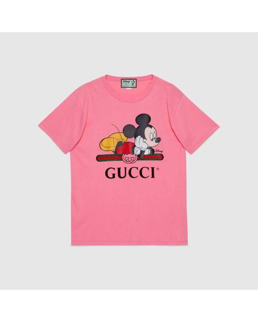 Gucci グッチdisney (ディズニー) X オーバーサイズ Tシャツ Multicolor