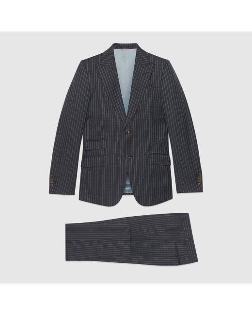 メンズ Gucci 〔ヘリテージ〕 ピンストライプ スーツ Multicolor
