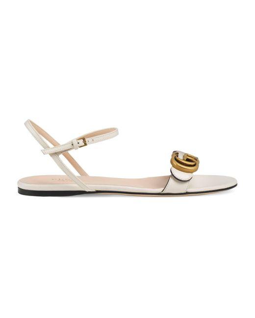 G Doble Sandalia Mujer Color De Piel Blanco Con SUMqzLVGp