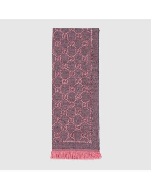 Gucci GGパターンウィンタースカーフ Multicolor
