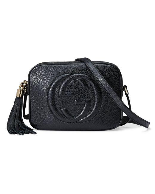 Gucci Black Soho Small Leather Disco Bag