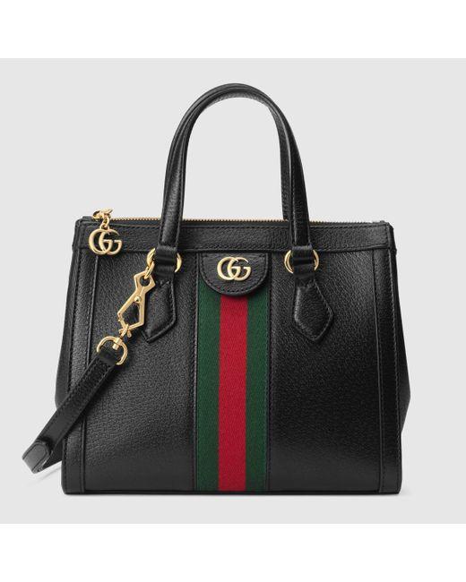 Gucci グッチ〔オフィディア〕スモール トートバッグ Black
