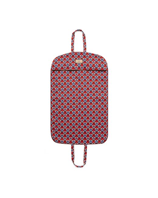 Gucci Red Geometric G Print Garment Bag for men