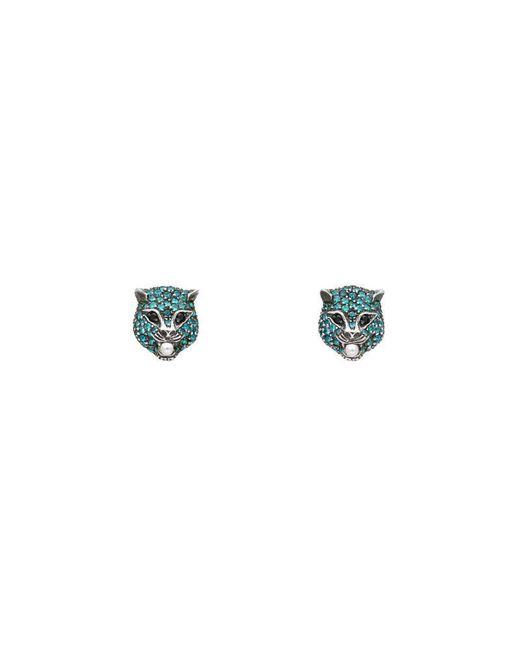Gucci | Blue Le Marché Des Merveilles Earrings | Lyst