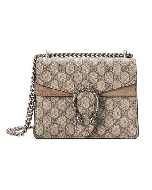 Gucci Natural Dionysus GG Supreme Mini Bag