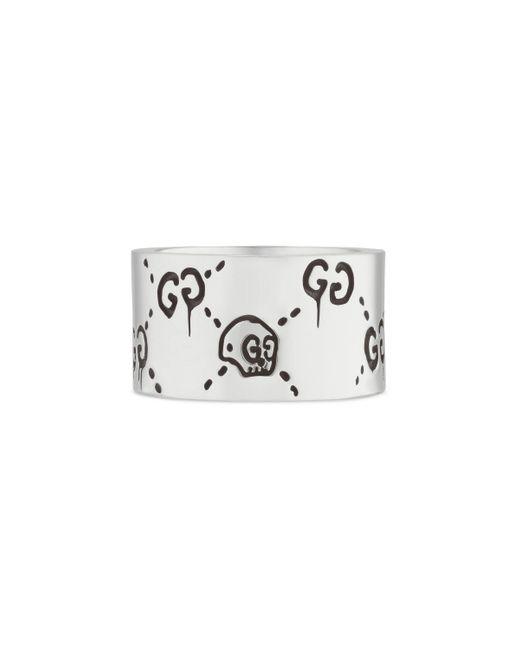Gucci Metallic Ghost Ring