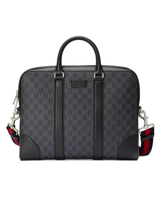 Mallette suprême GG Gucci pour homme en coloris Black