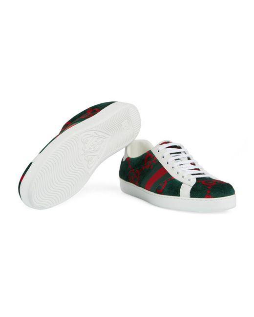 41e3db2d93 White Men's Ace GG Terry Cloth Sneaker