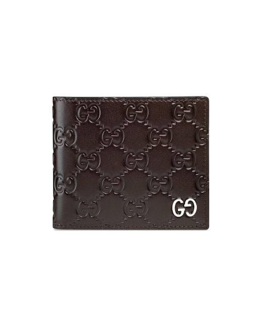 Gucci - Brown Signature Wallet for Men - Lyst