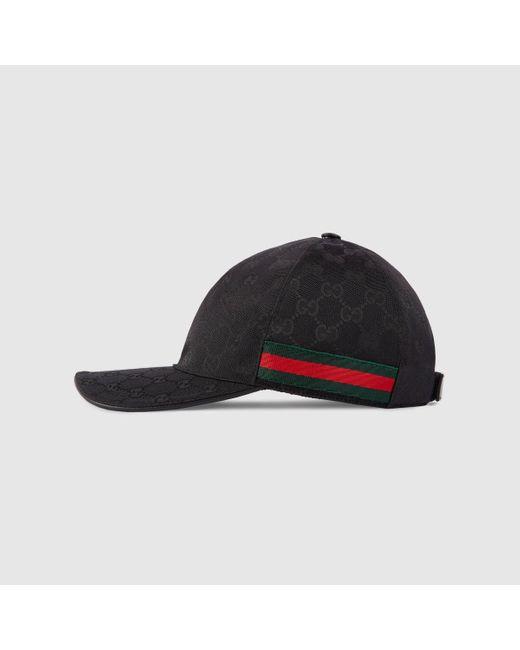 Gucci Baseball-Cap mit Webstreifen in Black für Herren