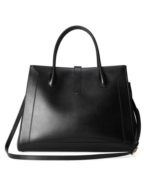 Bolso tote grande Jackie 1961 Gucci de color Black