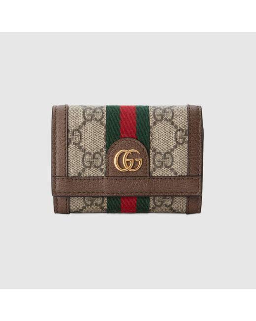 Gucci グッチ〔オフィディア〕二つ折り ウォレット Multicolor
