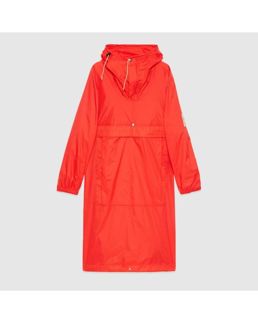 Gucci グッチ公式the North Face X オンライン限定 ナイロン パーカレッドcolor_descriptionウェア Red