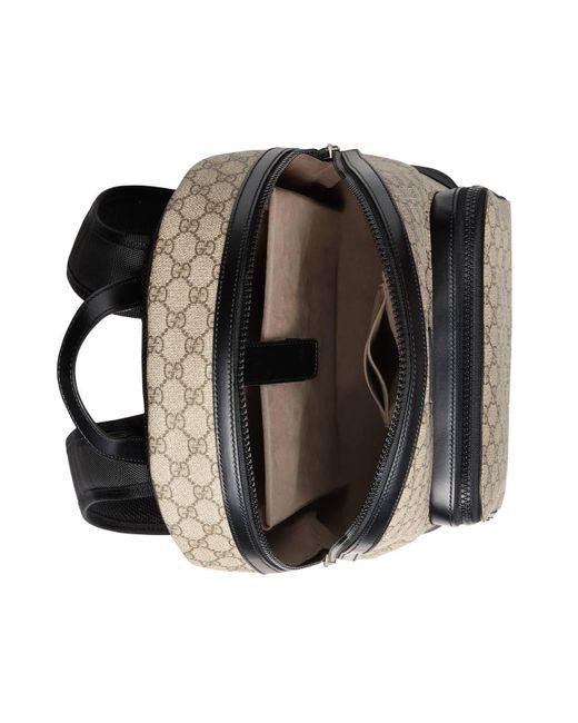 e01fc22f28b ... Gucci - Natural GG Supreme Backpack - Lyst