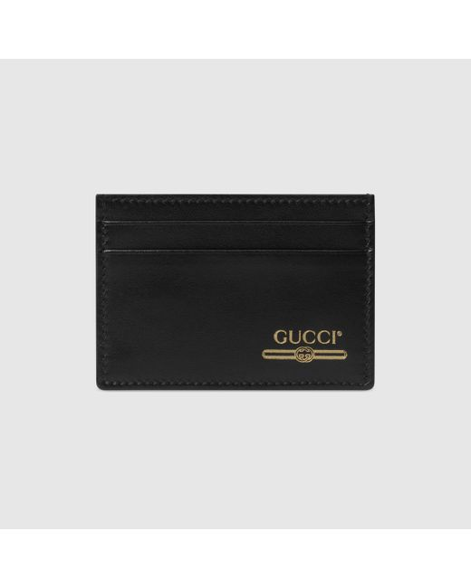 Gucci Black Money Clip With Logo for men