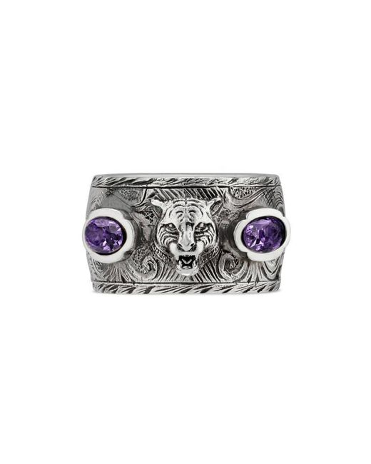 Gucci | Metallic Garden Ring In Silver | Lyst
