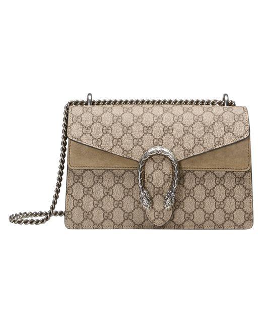 Gucci - Natural Dionysus Small GG Shoulder Bag - Lyst ... 2e6d27b4622d1