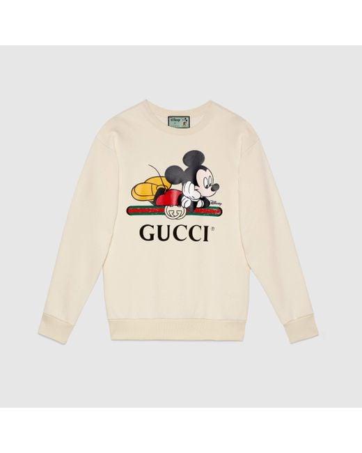 Gucci グッチオンライン限定 Disney (ディズニー) X オーバーサイズ スウェットシャツ Multicolor