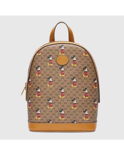 メンズ Gucci グッチディズニー X グッチ スモール バックパック Multicolor