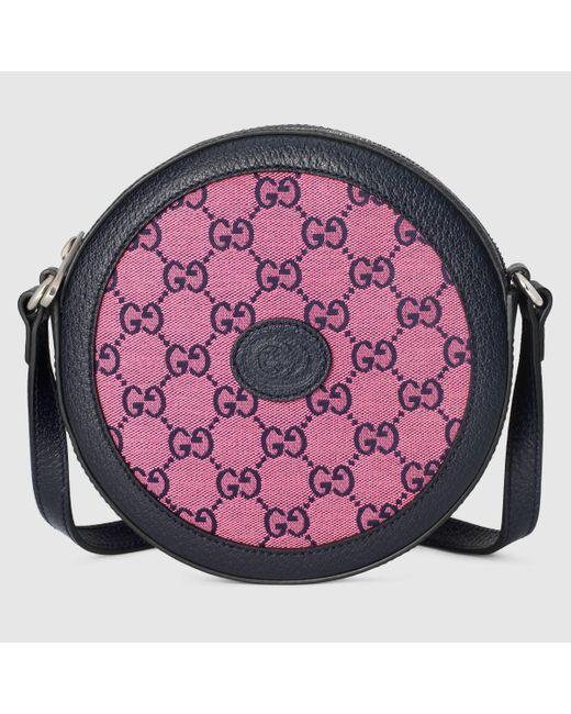 Gucci グッチGG マルチカラー ショルダーバッグ Pink
