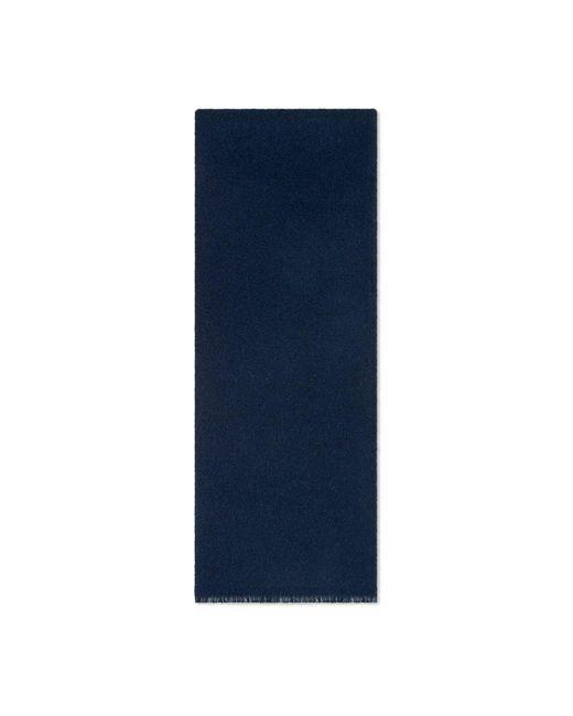 Foulard en laine et soie GG Gucci pour homme en coloris Blue