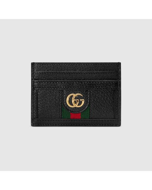 Gucci グッチ〔オフィディア〕オンライン限定 カードケース Black