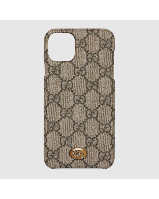 Gucci グッチ〔オフィディア〕iphone 11 Pro Max ケース Multicolor