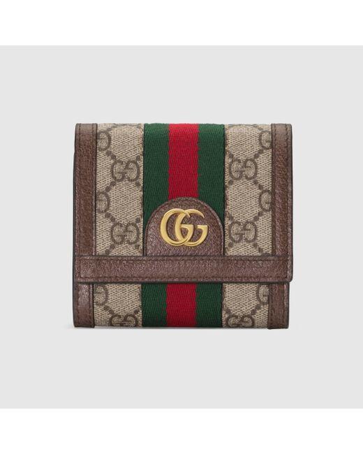 Gucci 〔オフィディア〕GG カードケース ウォレット Multicolor