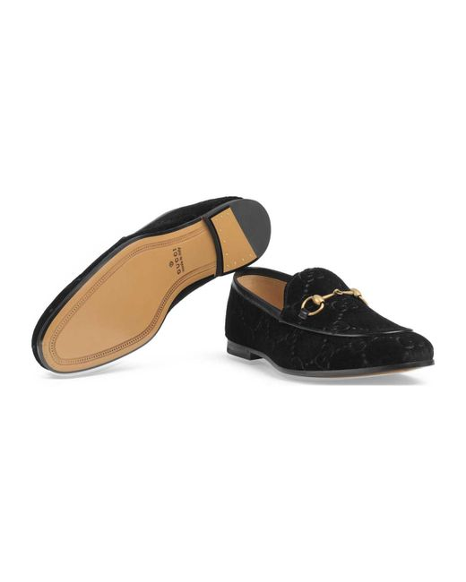 9396397a36c Lyst - Gucci Jordaan Gg Velvet Loafer in Black for Men - Save 26%