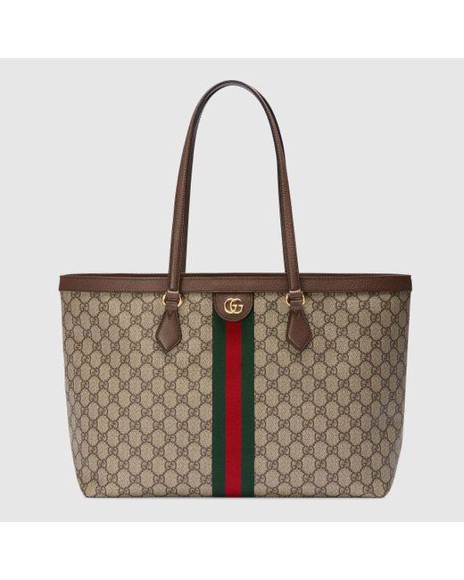 Gucci 【公式】 (グッチ)〔オフィディア〕GG ミディアム トートバッグGGスプリームベージュ Natural