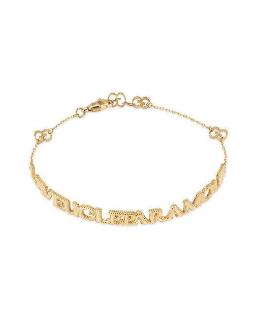"""Gucci - Metallic L'aveugle Par Amour"""" Bracelet"""" - Lyst"""