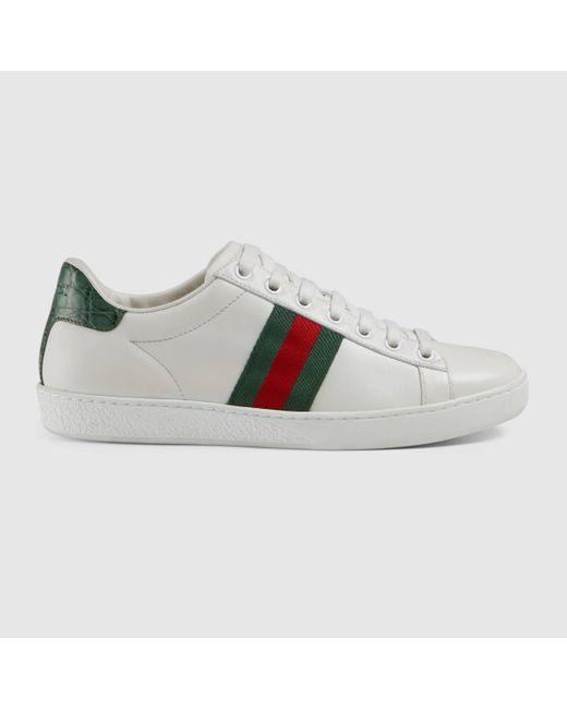 Gucci グッチ〔エース〕ウィメンズ レザー スニーカー Multicolor