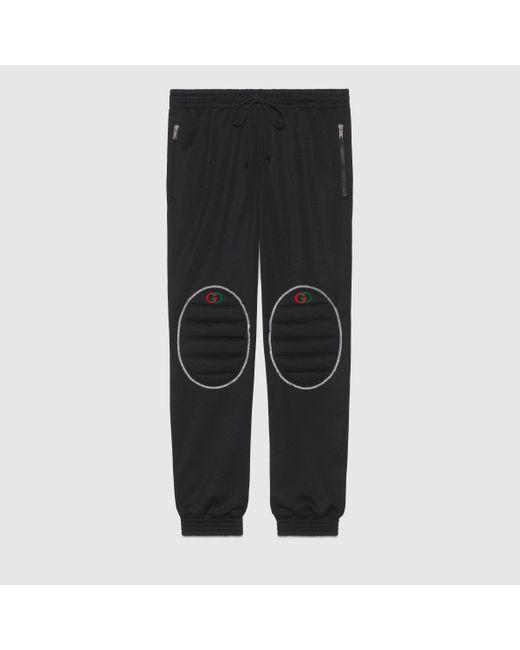 メンズ Gucci グッチルーズ テクニカルジャージー ジョギングパンツ Multicolor