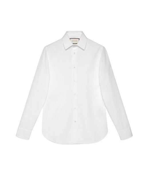 Camicia di Gucci in White da Uomo