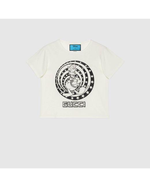 Gucci グッチdisney(ディズニー)x ドナルドダック Tシャツ Multicolor