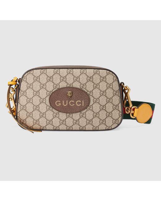 Gucci Natural Neo Vintage Umhängetasche aus GG Supreme