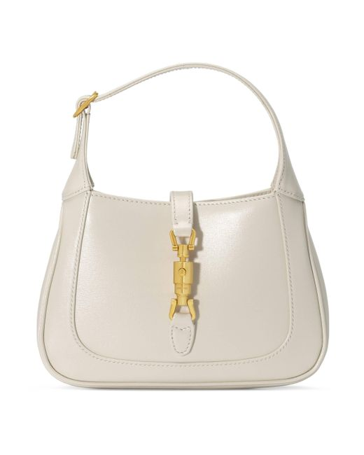 Gucci White Jackie 1961 Mini Shoulder Bag