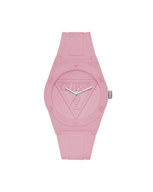 Guess - Iconic Light Pink Sport Watch - Lyst