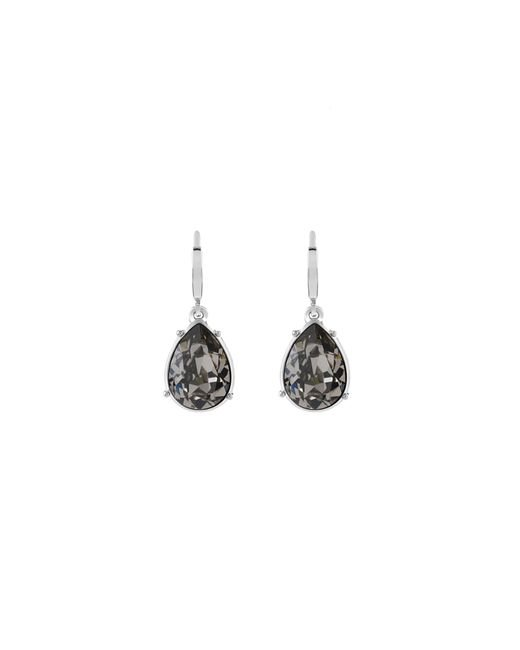 Guess | Metallic The Drop Earrings With Crystal Drops | Lyst