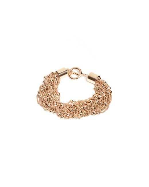 Guess - Metallic Rosa Beaded Layered Bracelet - Lyst