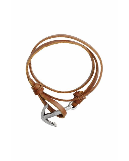 H&M | Brown Leather Bracelet | Lyst
