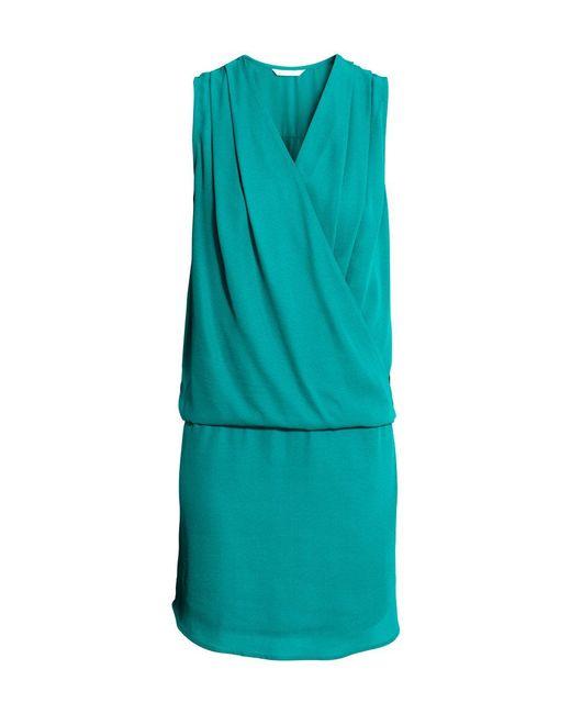 H&M   Blue Mama Nursing Dress   Lyst