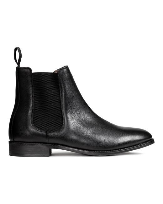 H Amp M Chelsea Boots In Black For Men Lyst