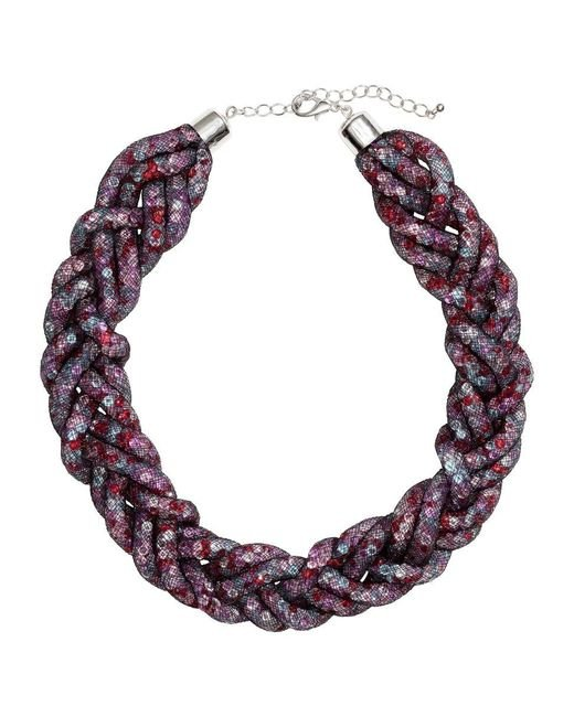 H&M | Multicolor Braided Necklace | Lyst