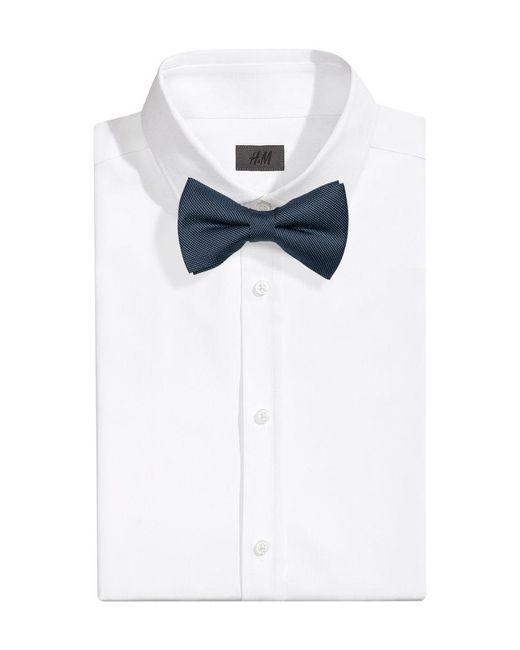 H&M | Blue Silk Bow Tie for Men | Lyst