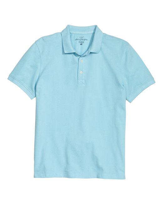 H m polo shirt in blue for men light blue lyst for H m polo shirt mens