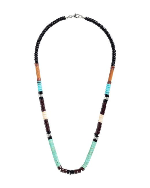 H&M | Blue Beaded Necklace | Lyst