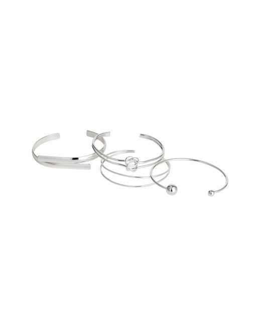H&M | Metallic 4 Bangles | Lyst