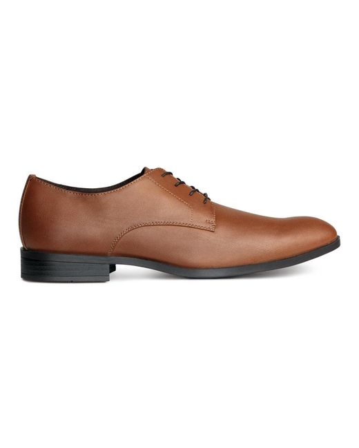 H&M | Brown Derby Shoes for Men | Lyst