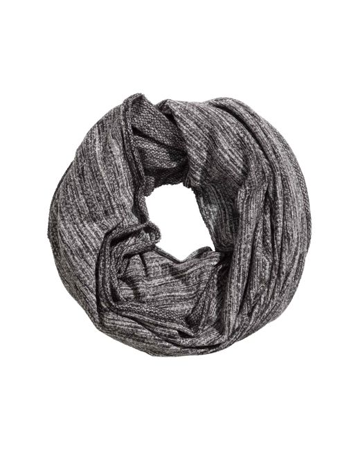 H&M | Gray Jersey Tube Scarf | Lyst